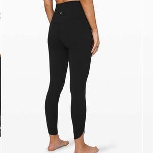 GUC Lululemon Align Petal HR Black Size 4 Leggings